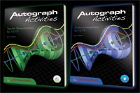 Autograph Books with Activity CD-ROMS