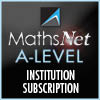 MathsNet A-Level Institution Subscription