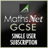 MathsNet GCSE Single User Subscription