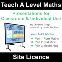 Teach A Level Maths Year 1/AS Site Licence